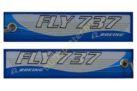 Boeing 737 FLY kulcstartó