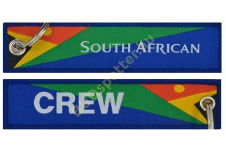 South African Crew kulcstartó