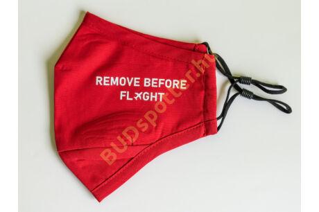 "Maszk ""remove before flight"""