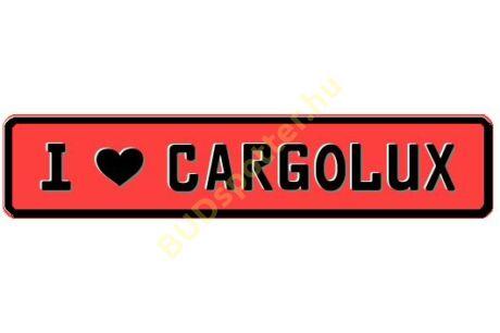 Cargolux rendszámtábla