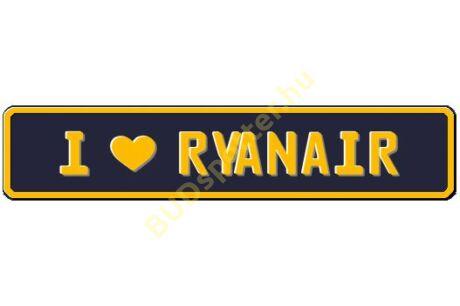 Ryanair rendszámtábla